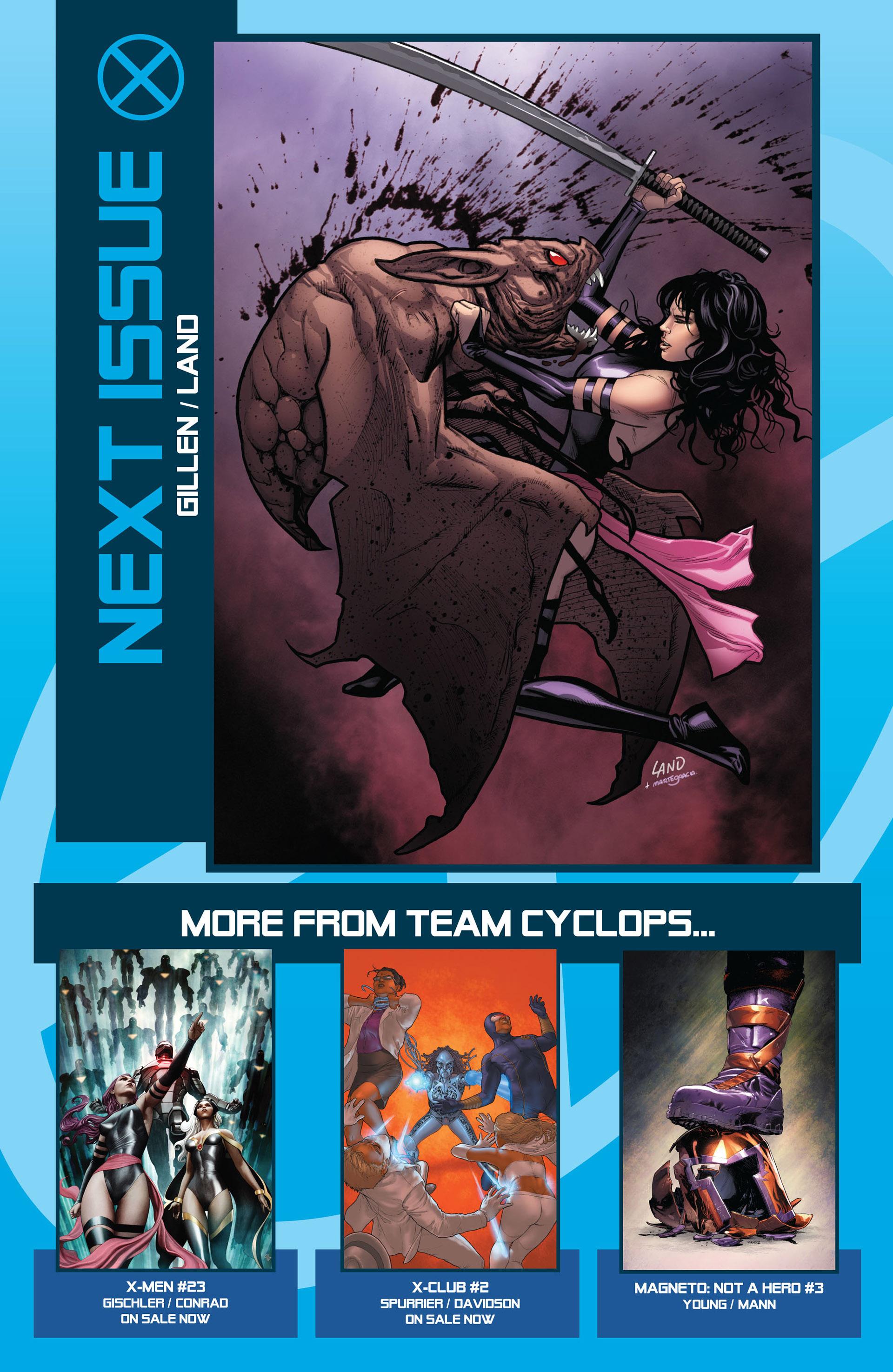 Read online Uncanny X-Men (2012) comic -  Issue #4 - 23