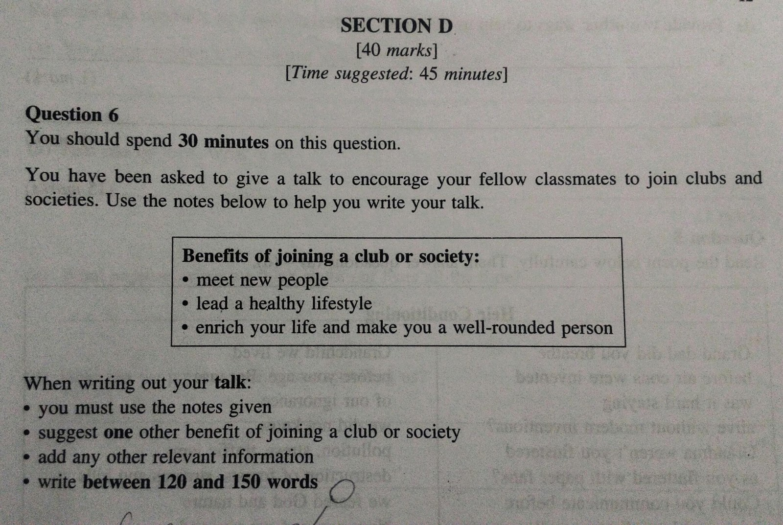 meowchelemeow pt english essay example talk on this wonderful day i would like to give a talk regarding the benefits of joining clubs or societies there are plenty of clubs or societies to