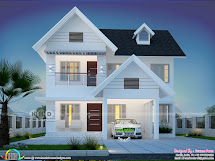 1992 Square Feet 4 Bedroom Beautiful House Plan Kerala