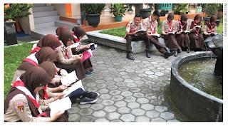struktur organisasi tim literasi sekolah