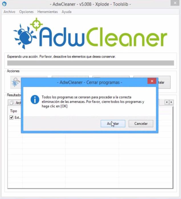 Cómo Eliminar Virus Adware y Ventanas Emergentes de Google Chrome ...