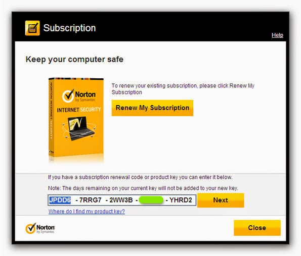 Norton Internet Security Free Product Key 180 Days with serial keys