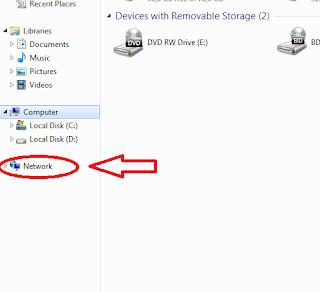 Cara Sharing file menggunakan jaringan Ad Hoc