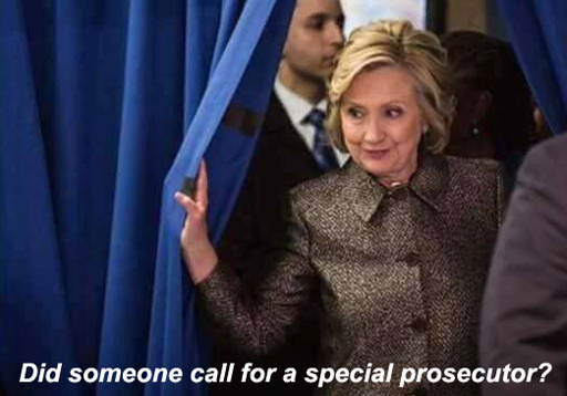 "Meme: ""Did someone call for a special prosecutor?"""