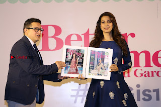 Bollywood Actress Juhi Chawla Launchs Better Homes 10th Anniversary Celetion Cover  0046.JPG