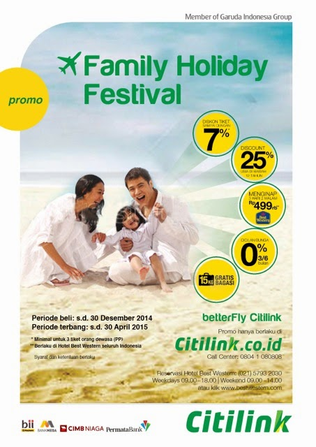 Family Holiday Festival promo
