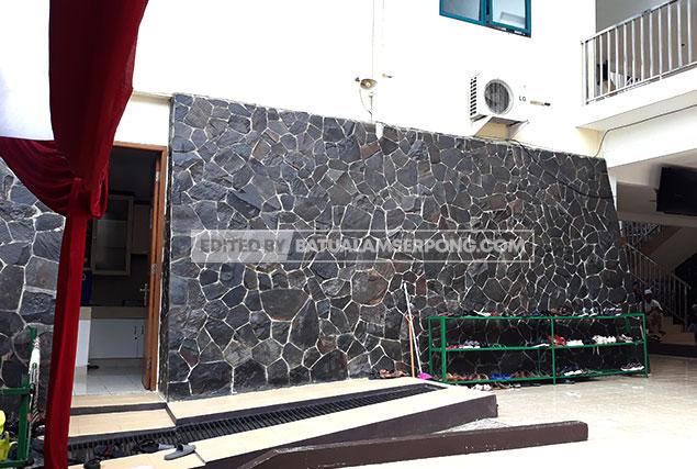 batu alam templek garut untuk dinding