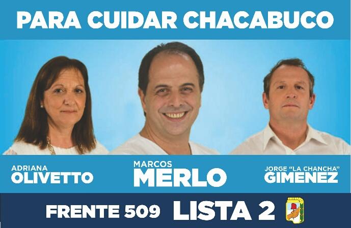 facebook para cuidar chacabuco Marcos Merlo concejal