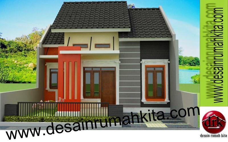 Desain Rumah Minimalis 1 Lantai Type 45 Foto Gambar Ukuran