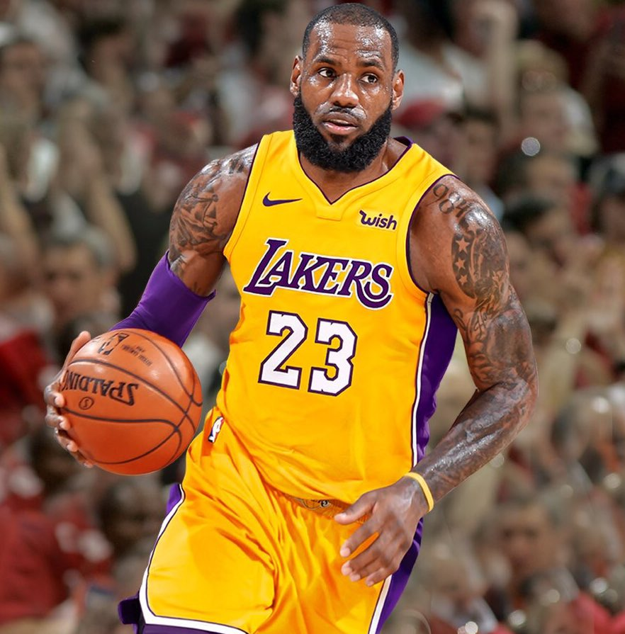 41 Lebron James Lakers Wallpapers | MagOne 2016