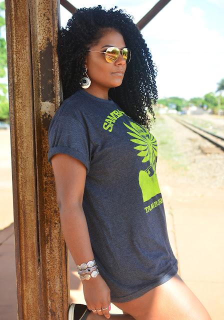 Camiseta Samba no Pé - Lojas Americanas