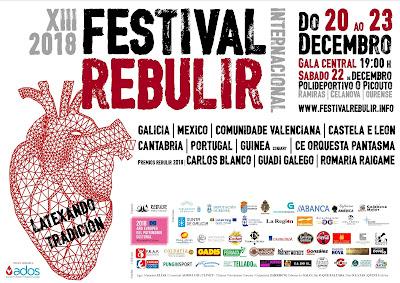Premios Rebulir da Cultura Galega 2018