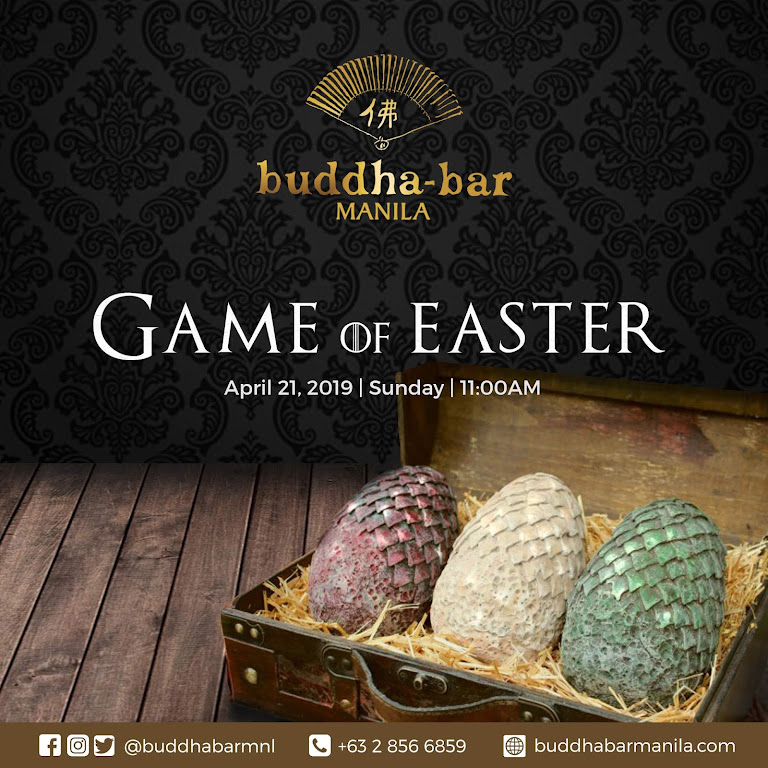 Exciting Easter egg-hunt in Buddha-bar, Makati City
