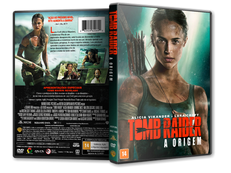 Capa DVD Tomb Raider: A Origem