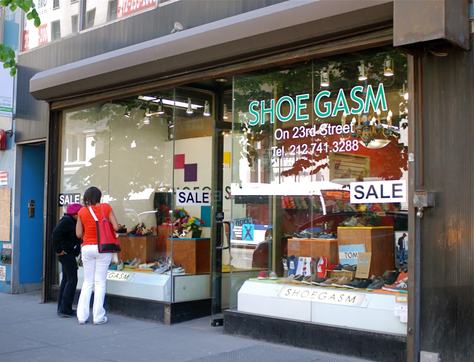 Nyc Nyc Store Name Puns Shoegasm