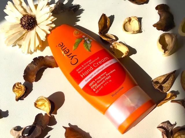 Cyrene Shea & Orange Nourishing Botanical Hand Cream El Kremi
