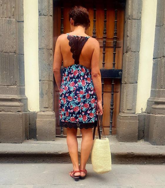 vestido tezenis espalda