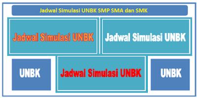 Jadwal Simulasi UNBK 2018 SMP/MTs, SMA/MA, dan SMK/MAK