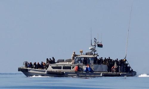 Kapal Pengungsi Terbalik di Libya, 90 Orang Terancam Tenggelam