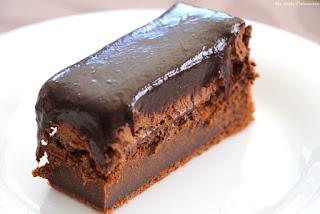 entremet tout chocolat James Berthier
