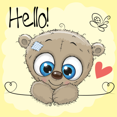 Teddy Bear Hello