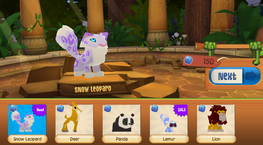 Image of: Deer Previously Leaked Few Weeks Ago The Snow Leopards Are Now Available From The Sapphire Shop And Have Secret Ridge Animal Area Off Mt Shiveer Animal Jam Spirit Blog Animal Jam Spirit Blog Play Wild Snow Leopards Chinese New Year