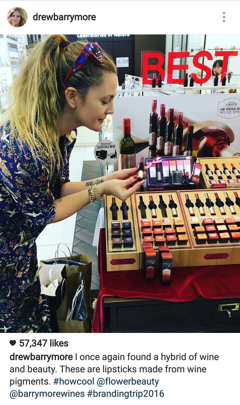 Chateau Labiotte Wine Liptint review