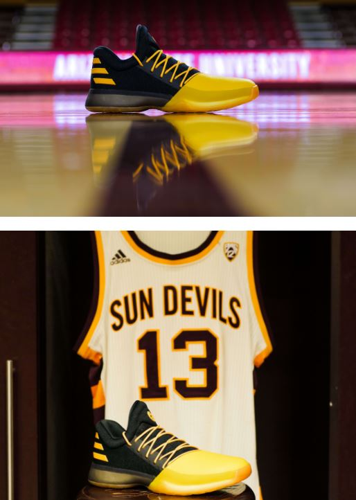 outlet store dbe6a 471c0 ... Harden was selected as the third overall pick in the 2009 NBA Draft -  cementing his Sun Devil legacy. The adidas Harden 1 Fear the Fork ( 140)  drops ...
