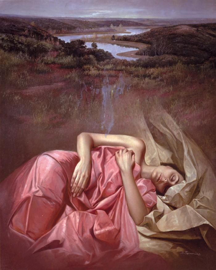 Современные художники Испании. Soledad Fernandez 14