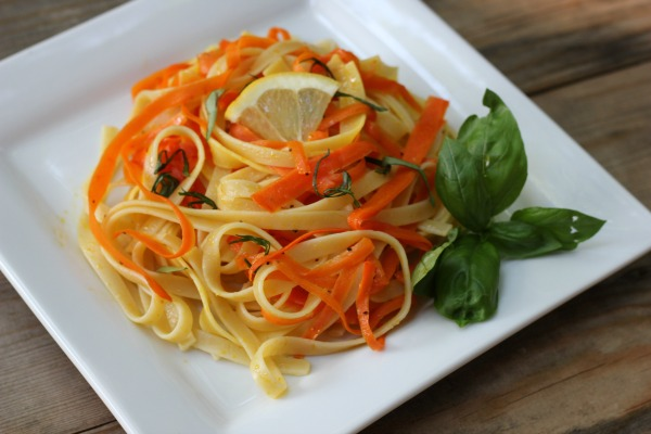 Carrot Ribbon Fettuccine