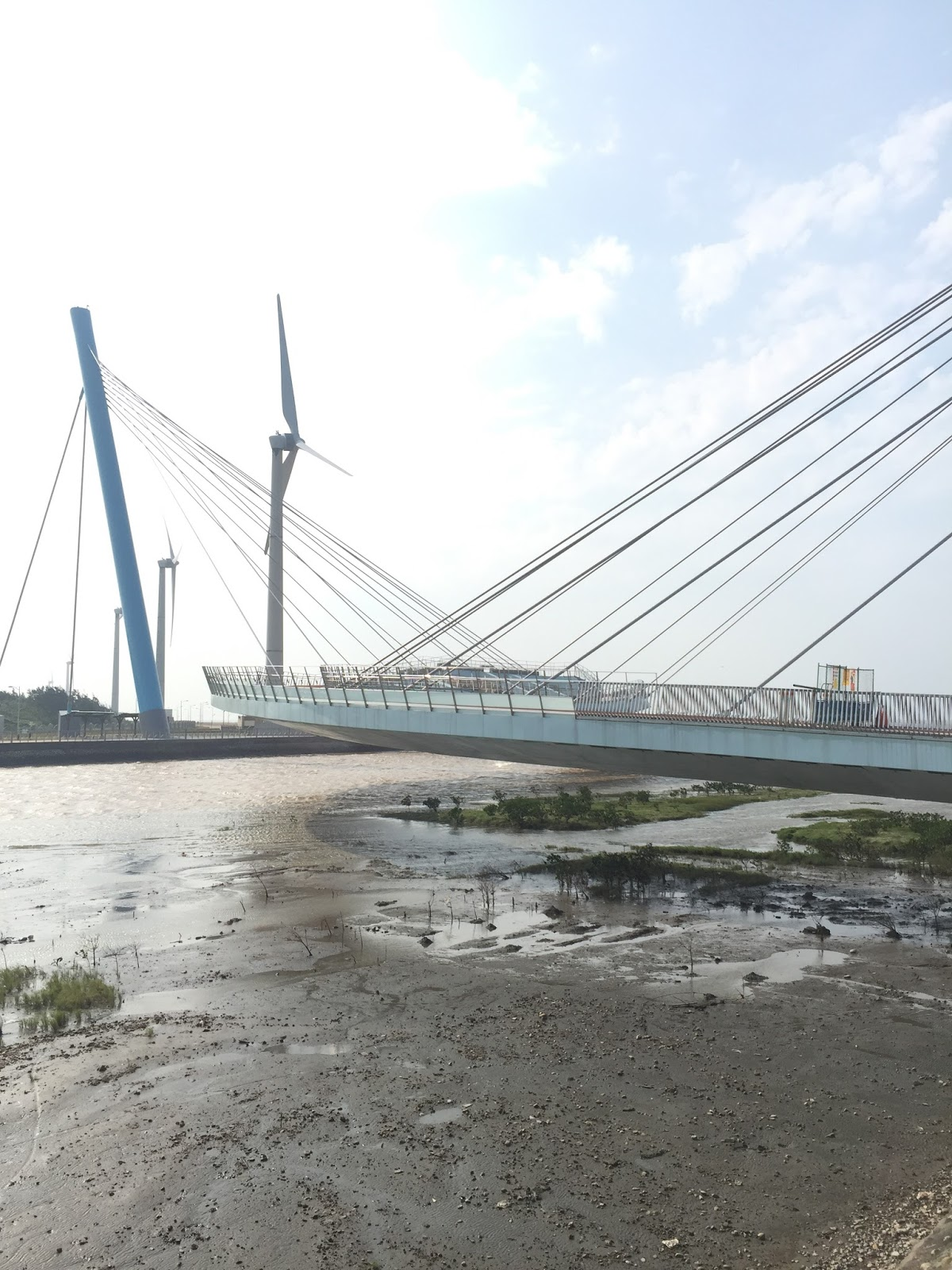光光良部落格: (臺中)高美濕地景觀橋 史上最短的跨海大橋