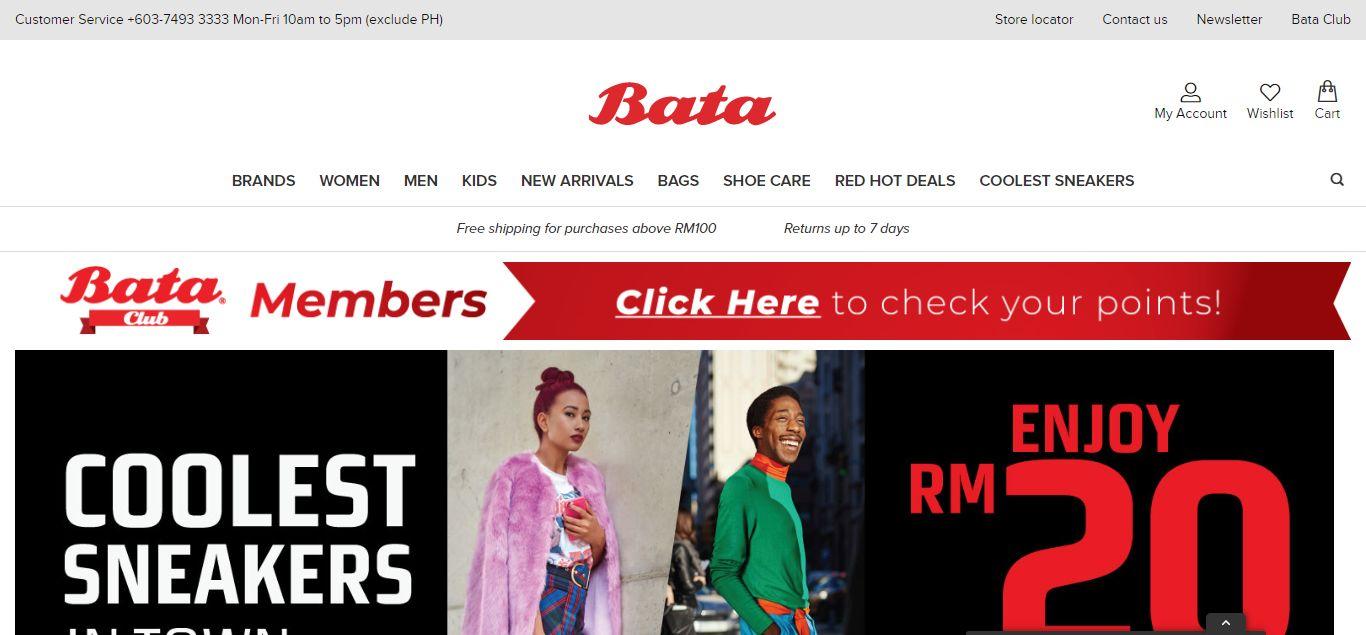 Bata e-commerce