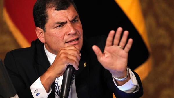 Correa denuncia que aspirantes a presidencia de Ecuador mienten