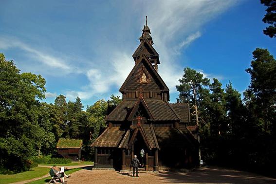 Museo Folklorico en la isla de los museos, Bygdoy. Oslo