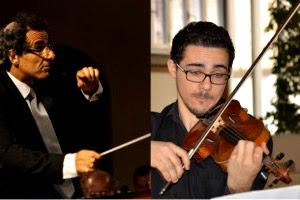 dirijorul Colin Attard şi violonistul Pierre Louis Attard