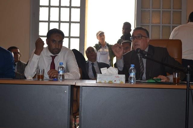 عامل إقليم برشيد يعقد لقاءا تواصليا مع جمعيات تنتمي لجماعات السوالم و الساحل و سيدي رحال