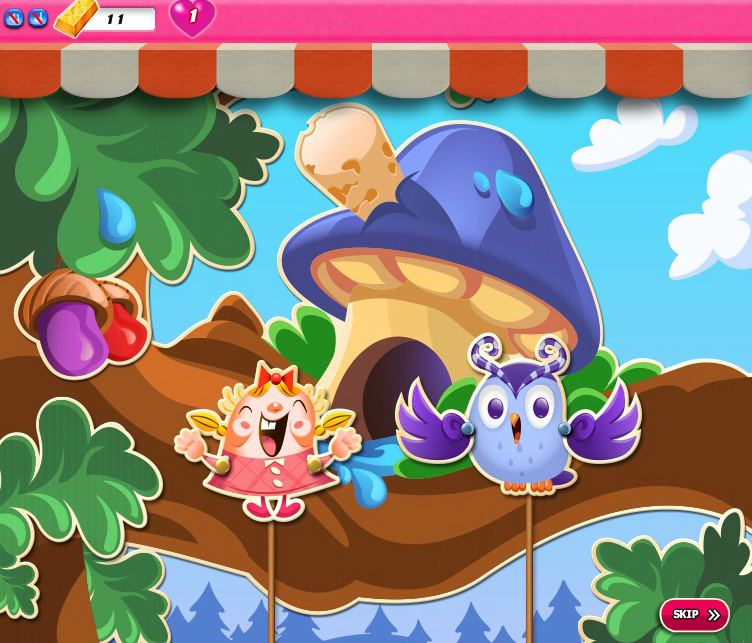 Candy Crush Saga 1671-1685
