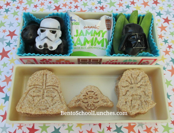 Star Wars bento school lunch