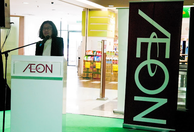 Ms. Nur Qamarina Chew, Managing Director of AEON CO. (M) BHD