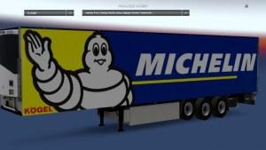 Michelin Kögel Trailer