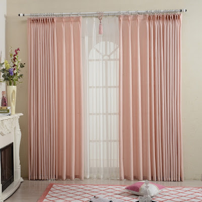 Cute Pink Curtains For Your Bedroom