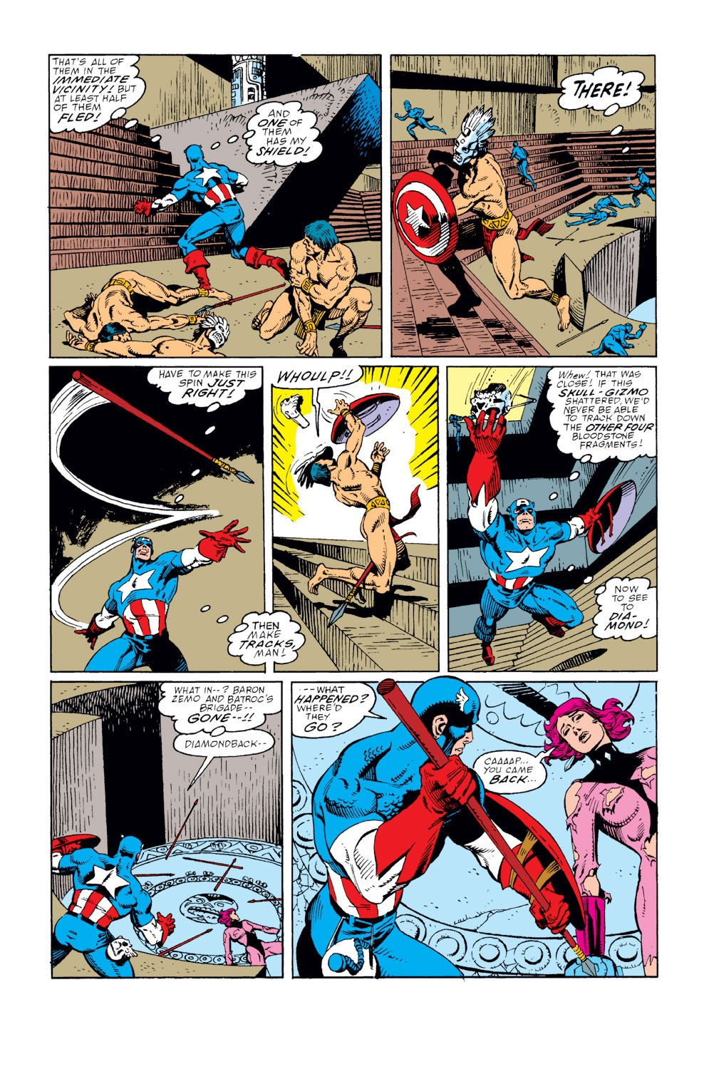 Captain America (1968) Issue #359 #292 - English 10