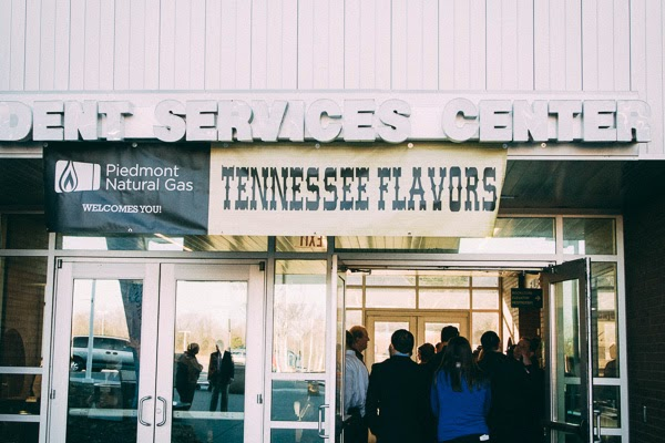 A review of the Tennessee Flavors food festival benefitting Nashville State Community College School of Culinary Arts in Nashville, Tennessee