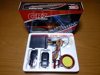 Cara Setting dan Menggunakan Alarm Motor Remote CR7 BOHANTE