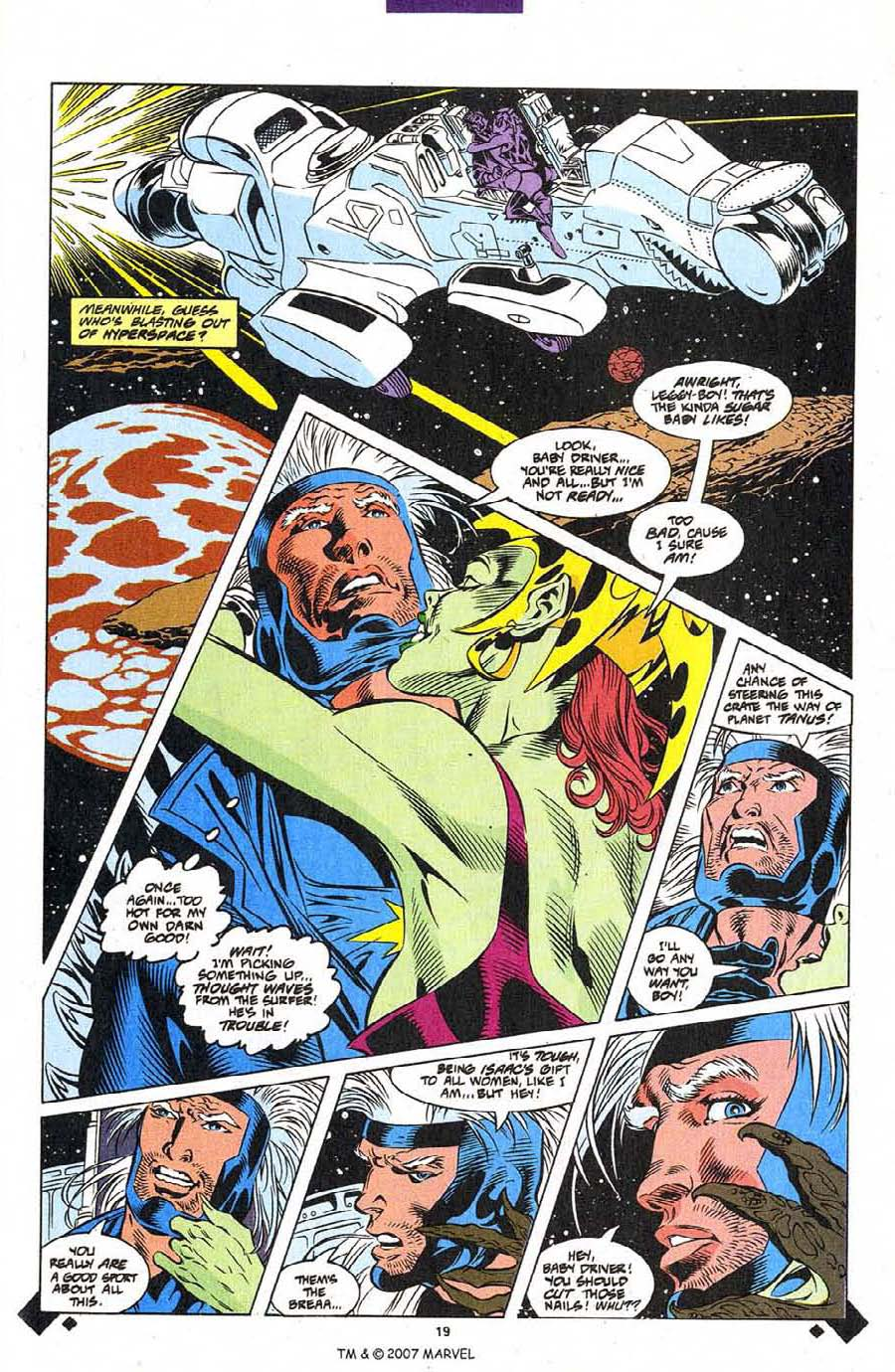 Read online Silver Surfer (1987) comic -  Issue #107 - 21