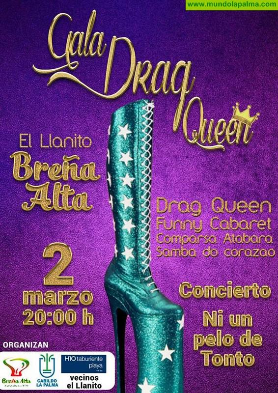 El Llanito de Breña Alta acogerá una 'Gala Drag Queen'