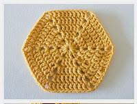 Cómo tejer un hexágono paso a paso