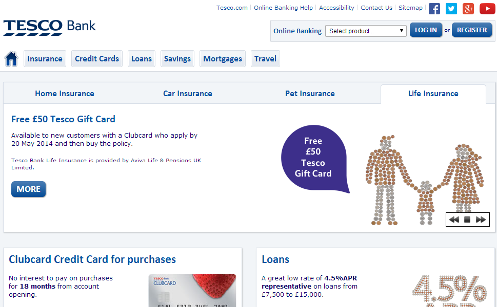 Tesco Credit Card Travel Insurance