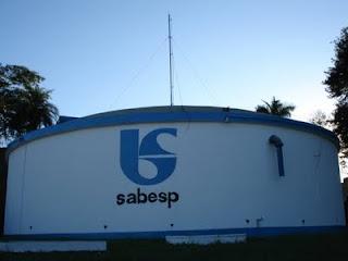 reservatorio de água da Sabesp