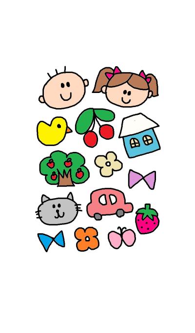 (Cute children)